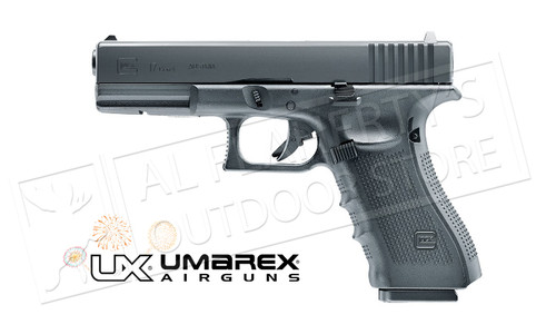 Umarex Air Gun GLOCK - 17 GEN4 Blowback - Black
