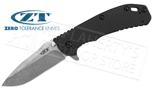 Zero Tolerance 0566 Carbon Fiber Folder by Rick Hinderer #0566CF