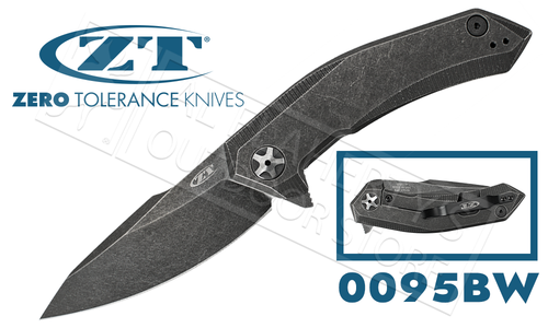 Zero Tolerance 0095 KVT Ball Bearing S35VN Blackwash #0095BW