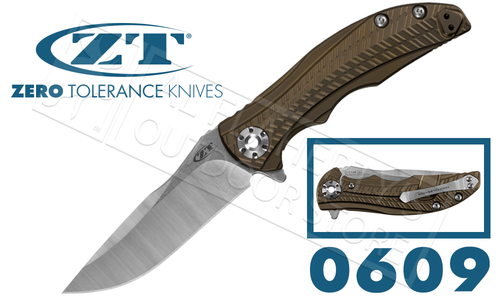 Zero Tolerance 0609 RJ Martin KVT Ball bearing STP #0609