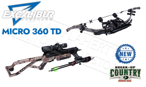Excalibur Micro 360 TD Crossbow in MOBUC Camo with Tact-Zone Scope #E73572