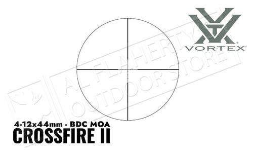 Vortex Crossfire II 4-12x44 Riflescope (1-Inch) BDC #CF231015