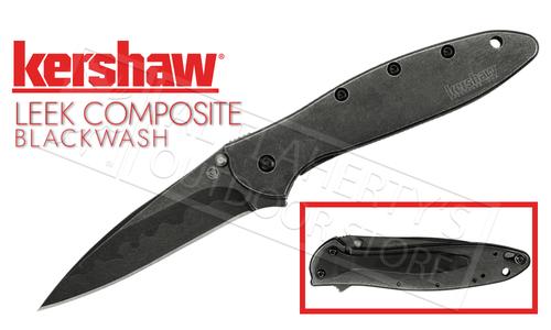 Kershaw LEEK Composite Blade Blackwash #1660CBBW