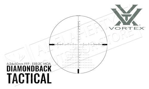 Vortex Diamondback Tactical 6-24x50 FFP EBR-2C MOA Reticle #DBK-10028