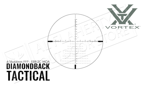 Vortex Diamondback Tactical 4–16x44 FFP EBR-2C MOA #DBK10026