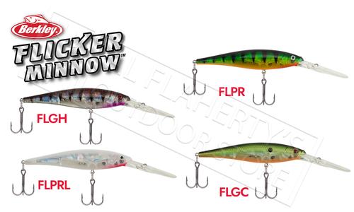 Berkley Flicker Minnow, Size 5 #FFMN5D