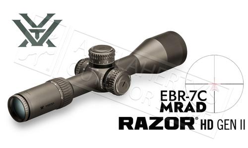 Vortex Razor HD GEN II Riflescope 4.5-27x56 FFP with EBR-7C MRAD Reticle #RZR-42708