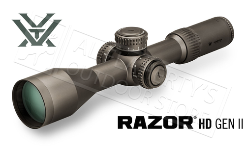 Vortex Razor HD GEN II Riflescope 4.5-27x56 FFP with EBR-7C MRAD Reticle #RZR-42708