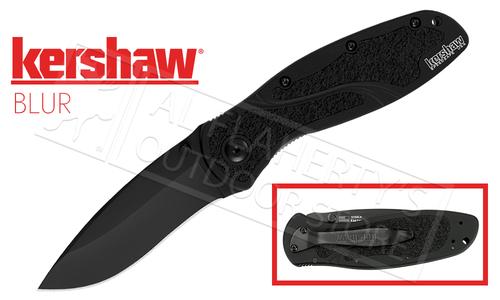 Kershaw BLUR - Black Recurve Fine Edge #1670BLK