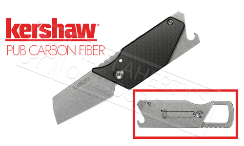 Kershaw PUB - Sinkevich Carbon Fiber Multi Function Folding Knife #4036CF