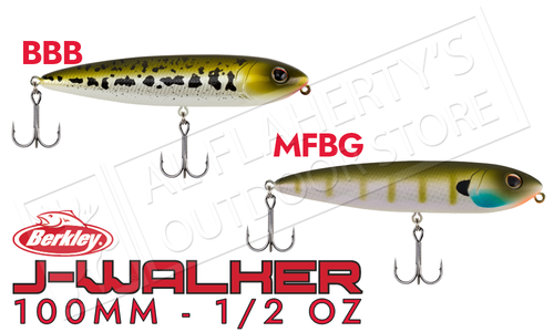Berkley J-Walker 100 Top-Water Baits #BHBJW100