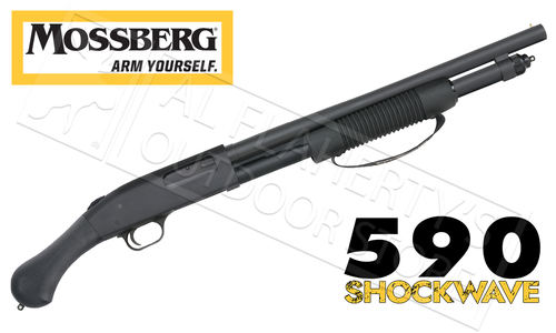 Mossberg 590A1 Shotgun with Ghost Rings #50774 - Al