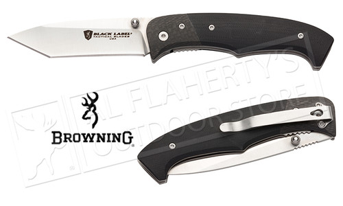 Browning Knife Black Label Decoded-Assisted Open