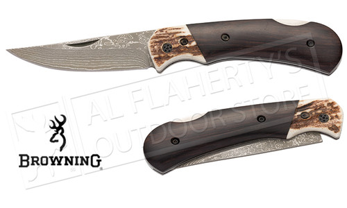 Browning Knife Second Chance-Stag/Ebony