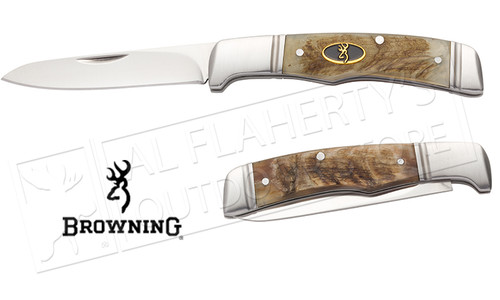 Browning Knife Joint Venture-Sheep Horn