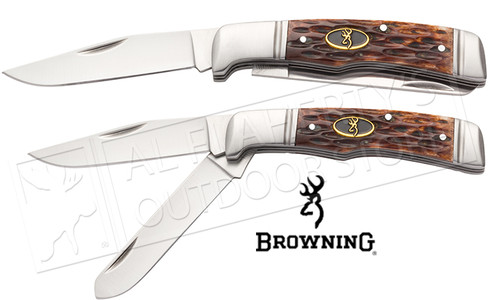 Browning Knife Joint Venture-Jigged Bone