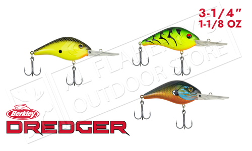 Berkley Dredger 25.5 Crankbait, 3-1/4 inch 1-1/8 oz. Various Patterns #BHBDR25.5
