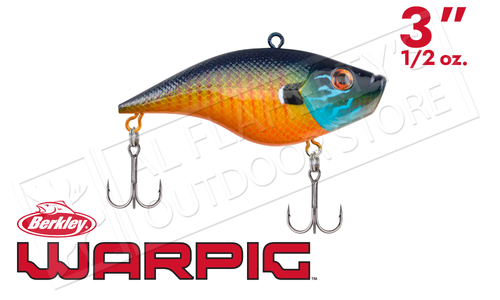 "Berkley Warpig Lipless Crank Baits, 3"" 1/2 oz, Various Patterns #BHBWP1/2"
