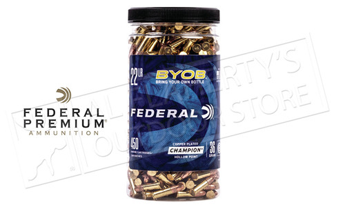 Federal Ammunition BYO Bulk Pack, .22LR, 1260fps, 450