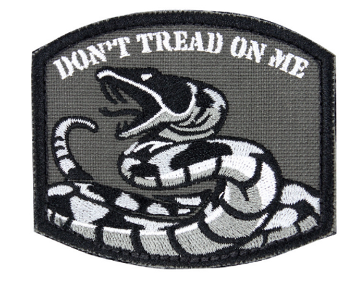 Condor PVC D'ont Tread On Me Patches #181005002