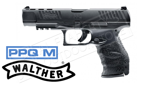 "Walther PPQ M2 B 9mm Pistol, 5"" Barrel with Compensated Slide #2813840"