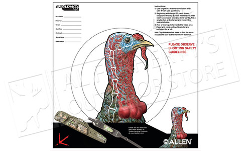 Allen EZ AIM TURKEY TARGET (PACK OF 6)