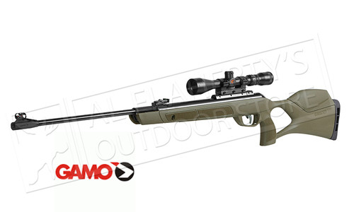 Gamo G-Magnum Jungle Air Rifle with Scope, 1250 FPS - 177 or 22 Caliber Pellet