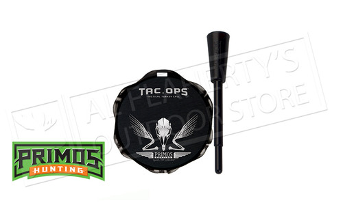 Primos Tac Ops Black All Weather Pot Turkey Call