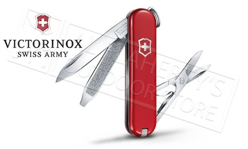 Victorinox Swiss Army Classic SD Knife Red #53001