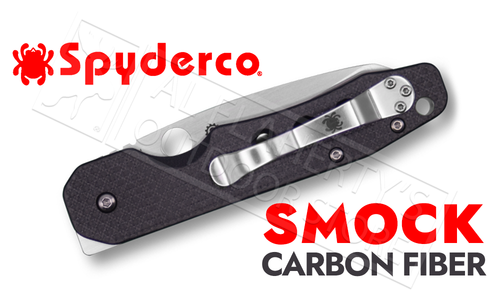 Spyderco Smock by Kevin Smock Sheepsfoot with Carbon Fiber and G-10 grips #C240CFP