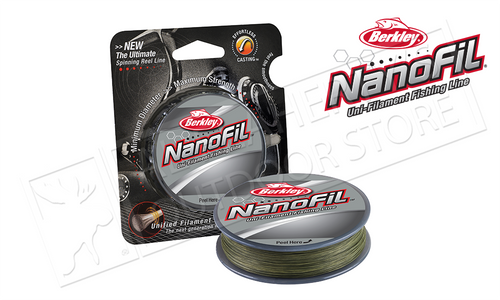 Berkley Nanofil Low-Vis Green, 150yd/137m Filler Spools #CNF15XX-22