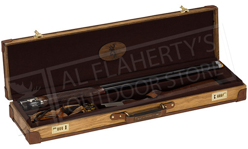 Browning Madera Fitted Case for Over-Under Shotguns Light Brown