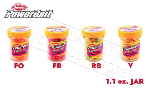 Berkley PowerBait Power Nuggets, 1.10 oz. Jars #BPN