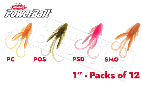 Berkley PowerBait Power Nymph, Various Patterns, Pack of 12 #PBHPN1