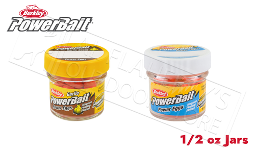 Berkley PowerBait Power Eggs Floating Magnum Size, Various Patterns, 0.5 oz Jar #FE