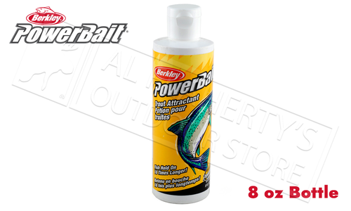 Berkley PowerBait Attractant - Trout 8 oz. Bottle #BATR8