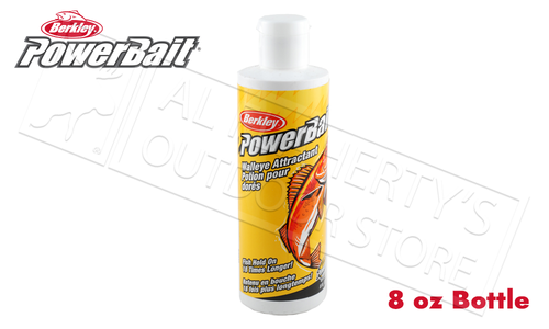 Berkley PowerBait Attractant - Walleye 8 oz. Bottle #BAWA8