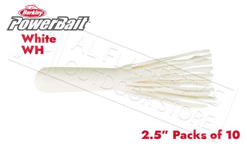"Berkley PowerBait Power Tubes, 2.5"" Packs of 10 #PBBPT25"