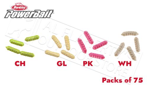 Berkley PowerBait Power Wigglers, Packs of 75 #PBHPWG