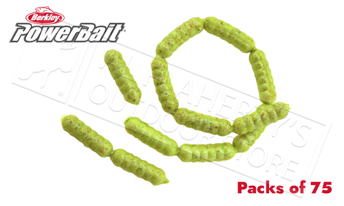 Berkley PowerBait Power Wigglers, Packs of 75 #PBHPWG