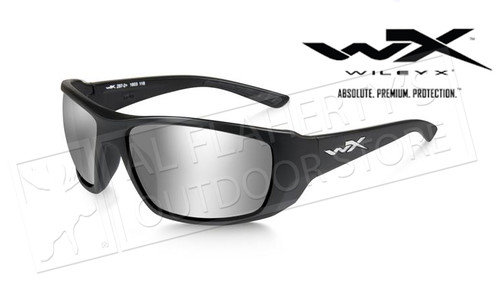 Wiley X Kobe Silver Flash (Smoke Grey) Matte Black Frame