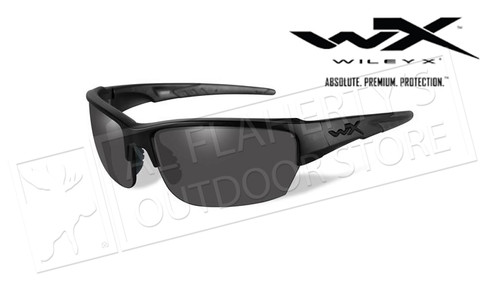 Wiley X Saint Black Ops Smoke Grey/Matte Black Frame