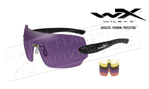 Wiley X Detection Clear Yellow Orange Purple Copper/Matte Black Frame