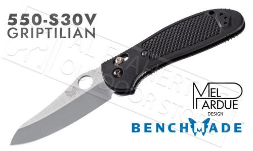 Benchmade 550 Griptilian AXIS Folder with Thumb Hole #550-S30V