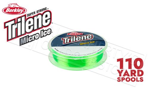 Berkley Trilene Micro Ice Fishing Line, Solar, 110 Yard Spool, 4 - 8 lbs., #MIPSx-81