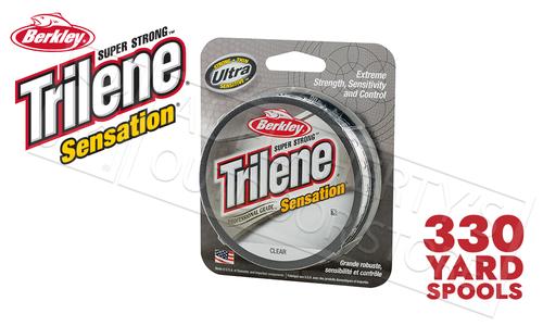 Berkley Trilene Sensation Clear, 330yd Spools #SNFSx-15