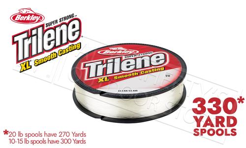 Berkley Trilene XL Smooth Casting Filler Spools, Clear #XLFS