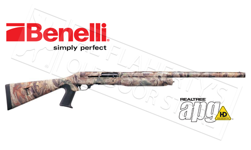 "Benelli Super Black Eagle 2 Shotgun Turkey Model, 12 Gauge with 3.5"" Chamber, With Steady Grip APG HD"