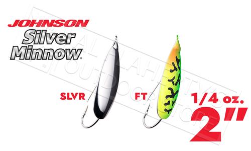 "Johnson Silver Minnow, 2"" 1/4 oz. #SM1/4"