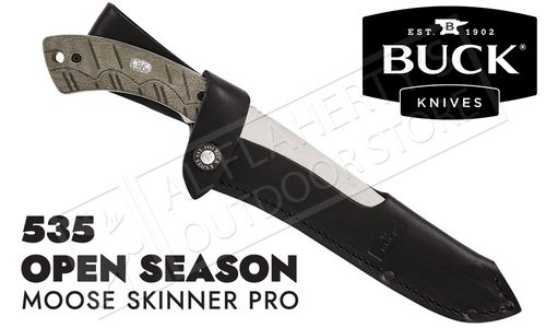 Buck Knives 535 Open Season Moose Skinner Pro #535ODS-B